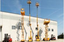 Noleggio leasing attrezzatura industriale