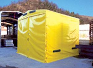 ricarica carrelli elevatori in box