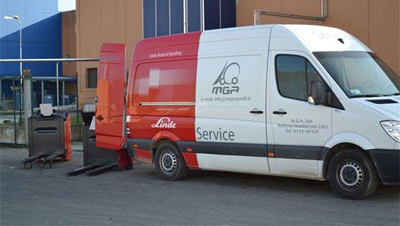 servizio assistenza tecnica carrelli elevatori