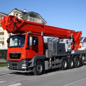 Noleggio attrezzatura industriale - Piattaforme autocarrate