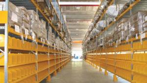scaffalature metalliche industriali e soppalchi
