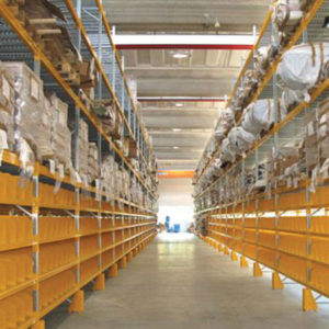 scaffali industriali, scaffalature, soppalchi