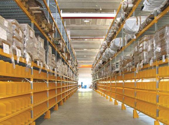 scaffalature metalliche per lo stoccaggio