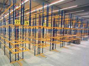 scaffali industriali per magazzini