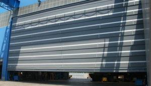 porte rapide capannoni industriali