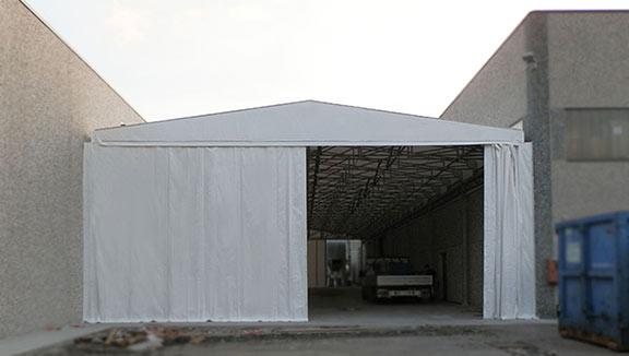 tunnel di collegamento in pvc