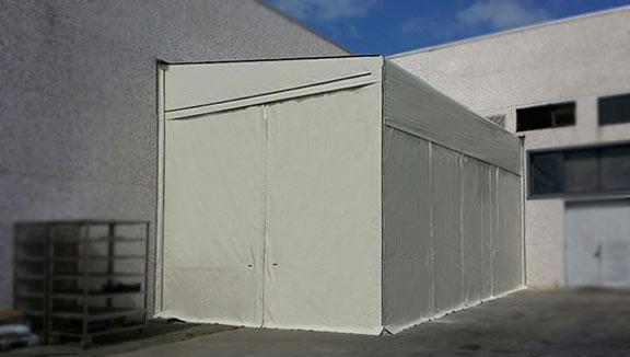 tunnel mobili laterali