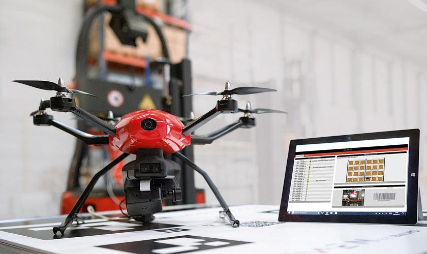 drone gestione magazzino Linde