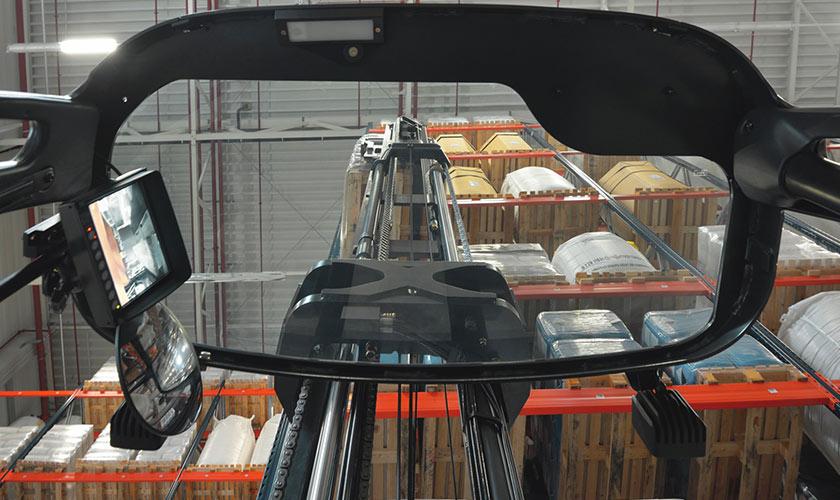 carrello elevatore linde con sistema dmc