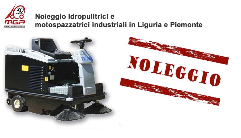 noleggio idropulitrici motospazzatrici lavapavimenti
