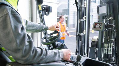 Linde Safety Guard sicurezza carrelli elevatori