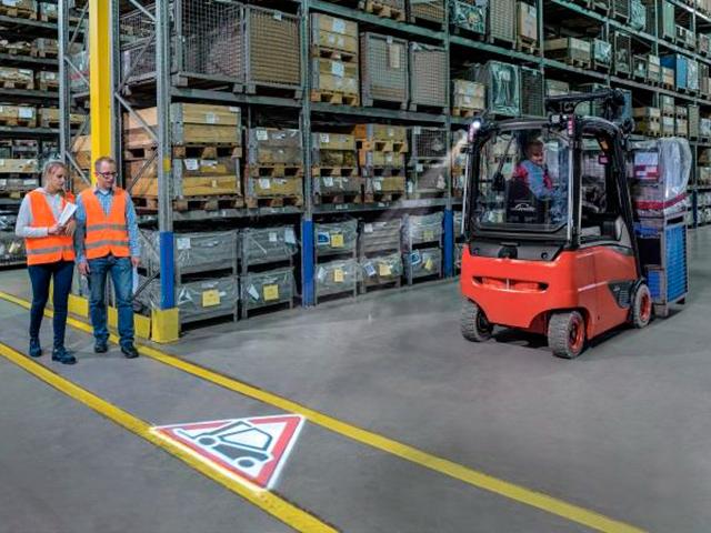 truckspot sistema di sicurezza accessori per carrelli elevatori