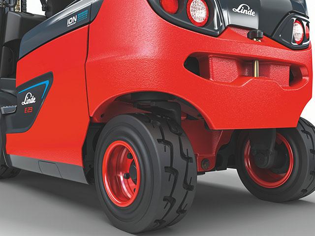 ruote cs20 per carrelli elevatori elettric