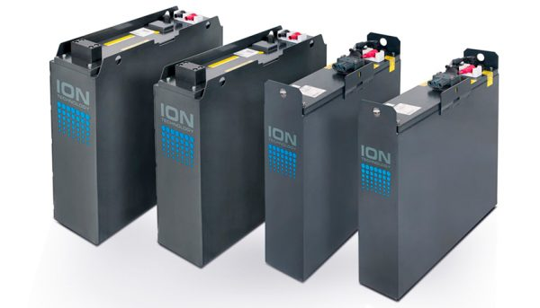 batterie agli ioni di litio per carrelli elevatori linde li-ion