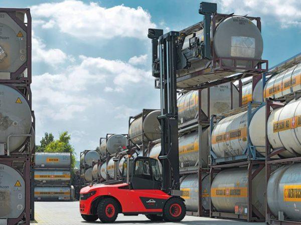 carrello elevatore stoccaggio pesante