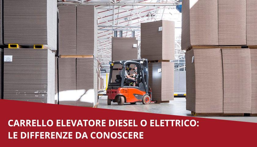 carrello diesel elettrico
