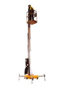 piattaforma verticale elettrica