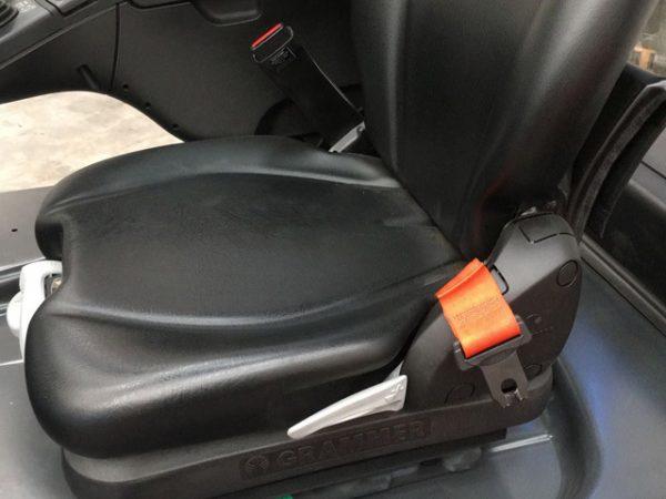 cintura sicurezza carrelli elevatori