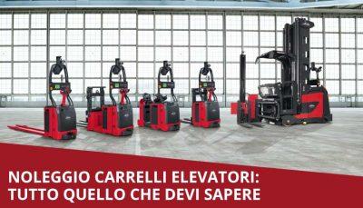 noleggio carrelli elevatori