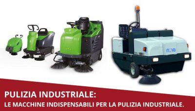 macchine pulizia industriale