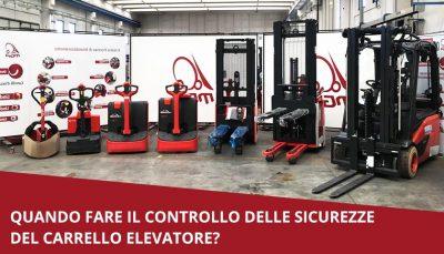 controlli carrelli elevatori