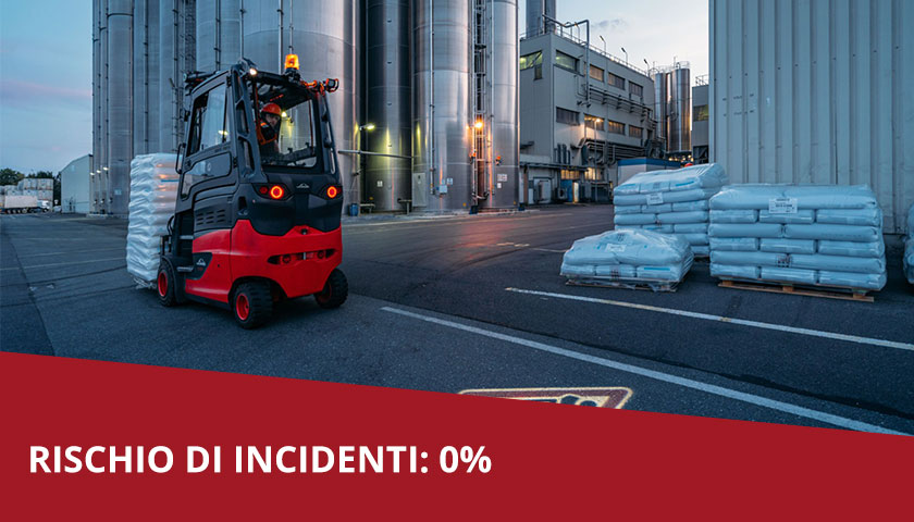 incidenti carrello elevatore