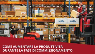 aumentare produttivita magazzino mga