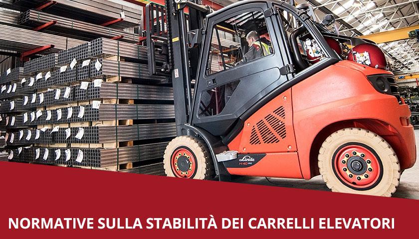 Normativa - stabilità - carrelli elevatori