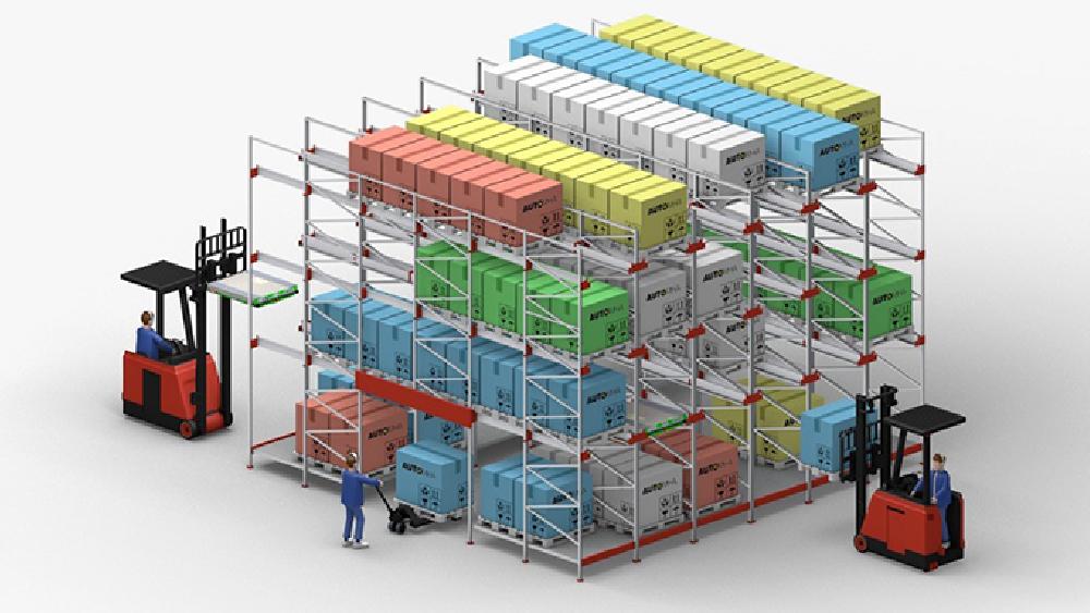magazzino automatico combinato