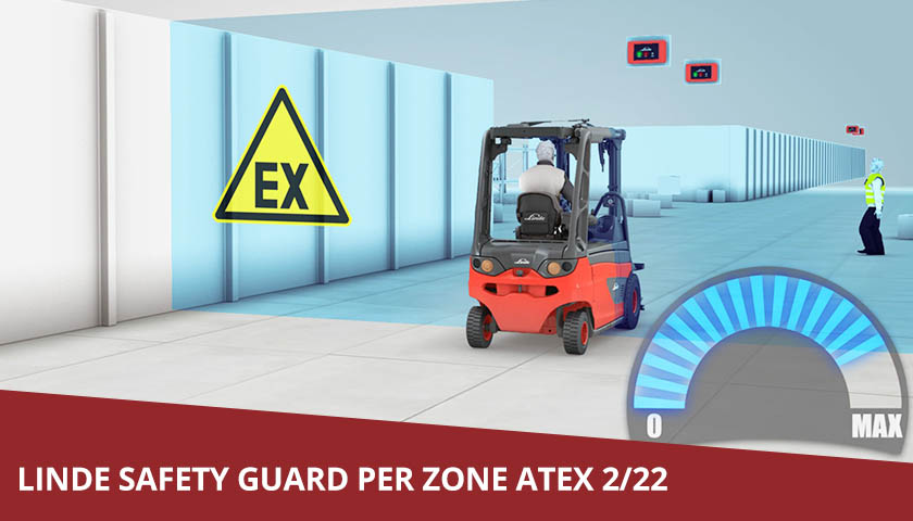 linde safety guard per zone atex